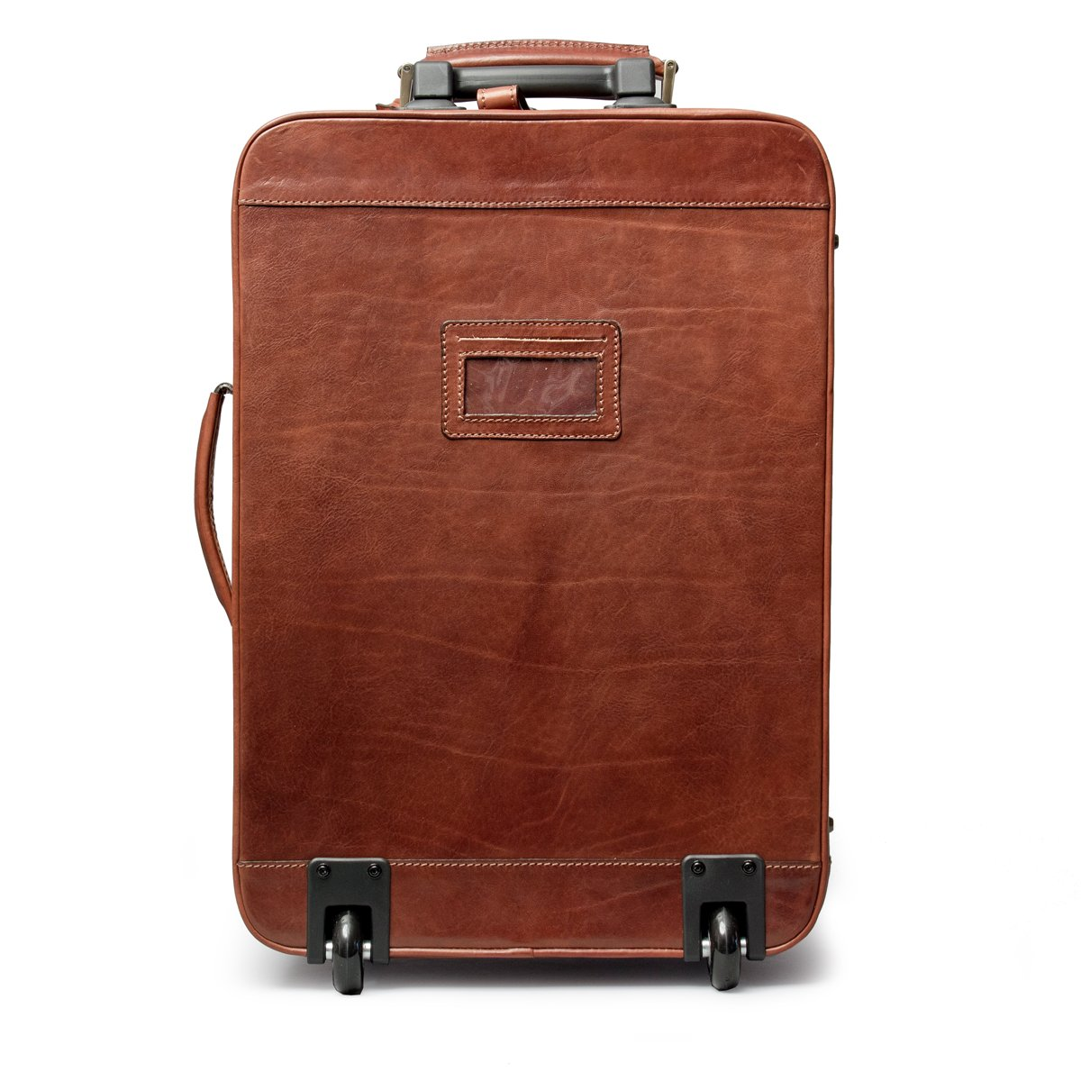 Maxwell Scott® Luxury Italian Leather Suitcase with Wheels ...