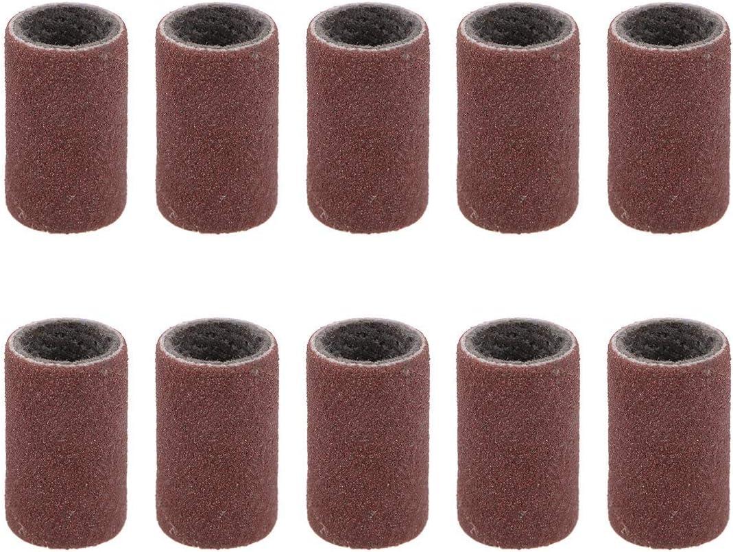 320 grains Sandpaper Belt drums 10 pieces X 1//2 in Sanding sleeves 1//4 in