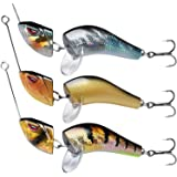 TRUSCEND Fishing Lures for Bass Trout Multi Jointed Swimbaits Slow Sinking Bionic Swimming Lures Bass Freshwater…