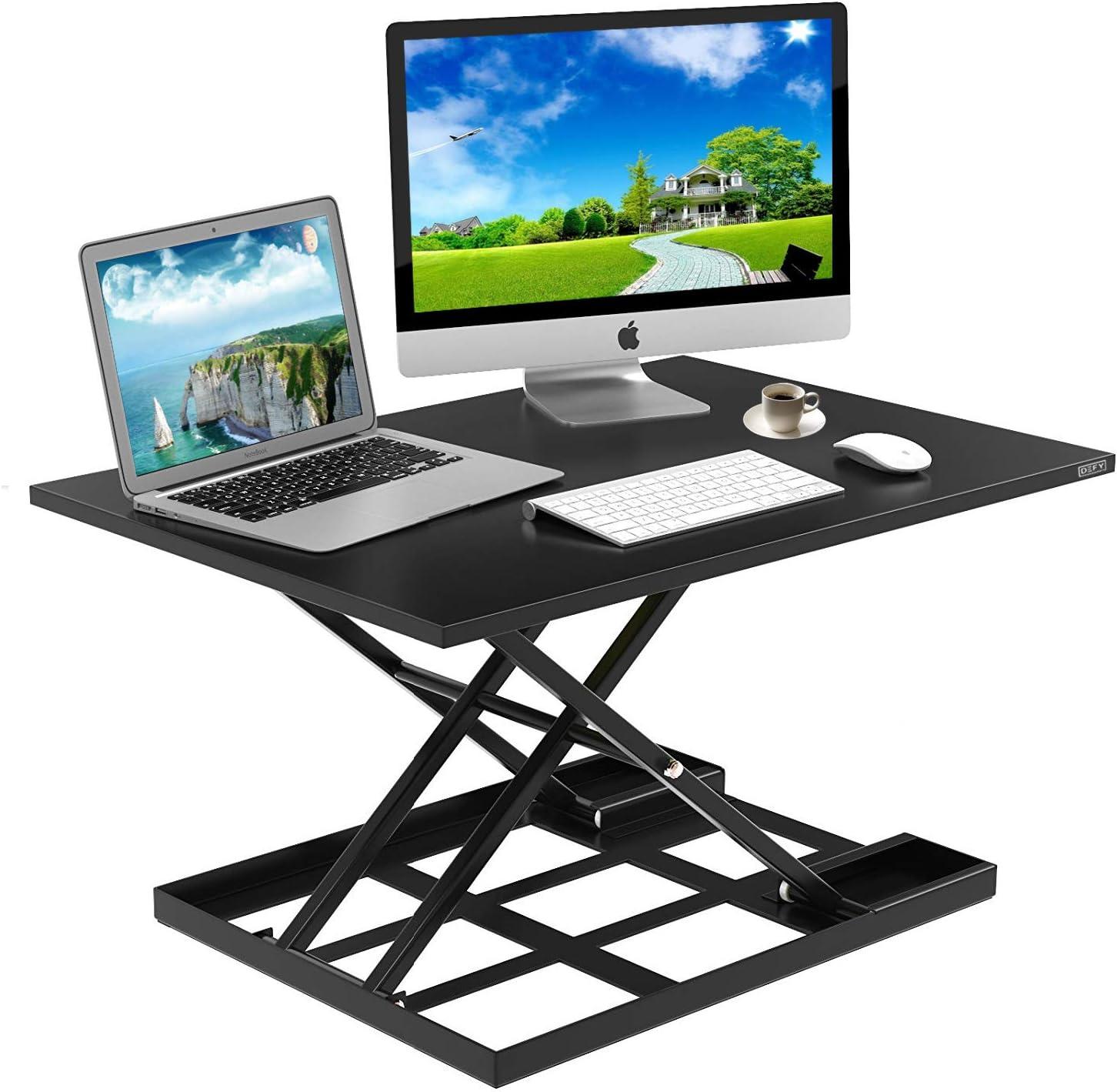 Standing Desk Stand Up Desks Height Adjustable Sit Stand Converter