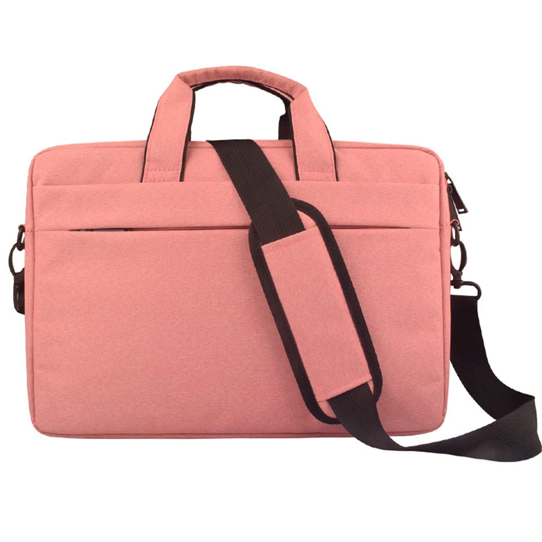 15 15.4 15.6 inch Multi-functional Business Laptop Sleeve / Carrying Handbag Shoulder Bag Briefcase / Laptop Messenger Bag for All 15 15.6 Inch Acer Asus Dell Lenovo Hp Samsung Toshiba