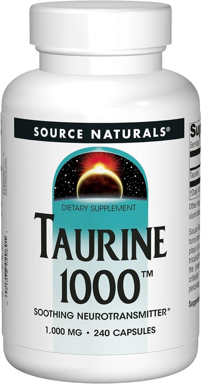 Source Naturals Taurine 1000mg - 240 Capsules