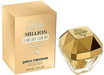 e9c69f89e7b Paco Rabanne Lady Million My Gold Eau de Toilette Spray for Woman 30 ...