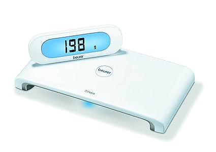 Beurer KS-600 - Balanza de cocina, 5 kg/1 gr, pantalla independiente ...