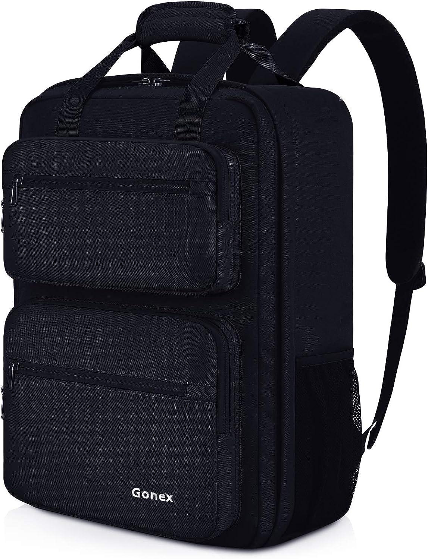 Gonex 35L Travel Backpack, 14 Inch Casual Laptop Daypacks for Men Women for Work Office College Business Schoolbag Bookbag