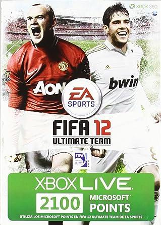 Microsoft - Tarjeta De 2.100 Puntos, FIFA (Xbox 360): Amazon ...
