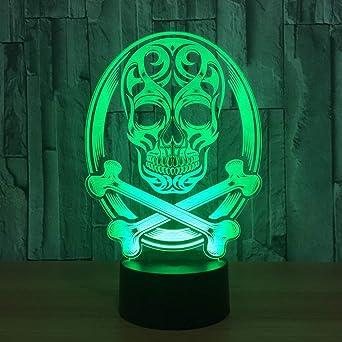 lampe tête de mort 10