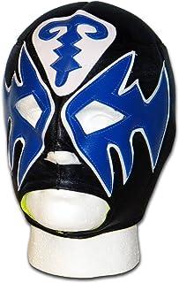 Luchadora ® Atlantico masque lucha libre wrestling catch mexicain noir bleu