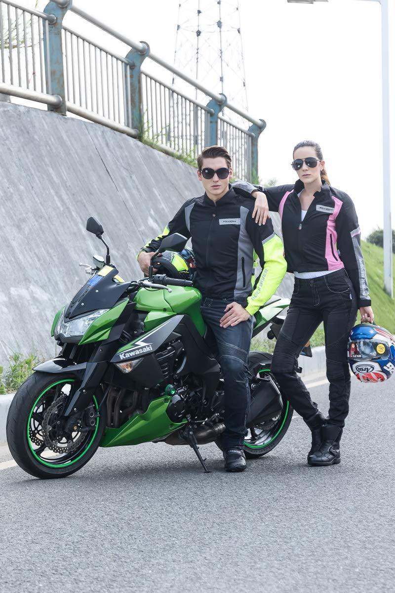 WildBee Unisexo Verano Respirable Chaqueta Motocicleta ...