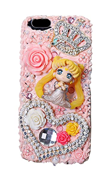 classic fit 2ec2e 675c9 Amazon.com: Yunhine Cream Gum Sailor Moon Phone Case for iPhone ...