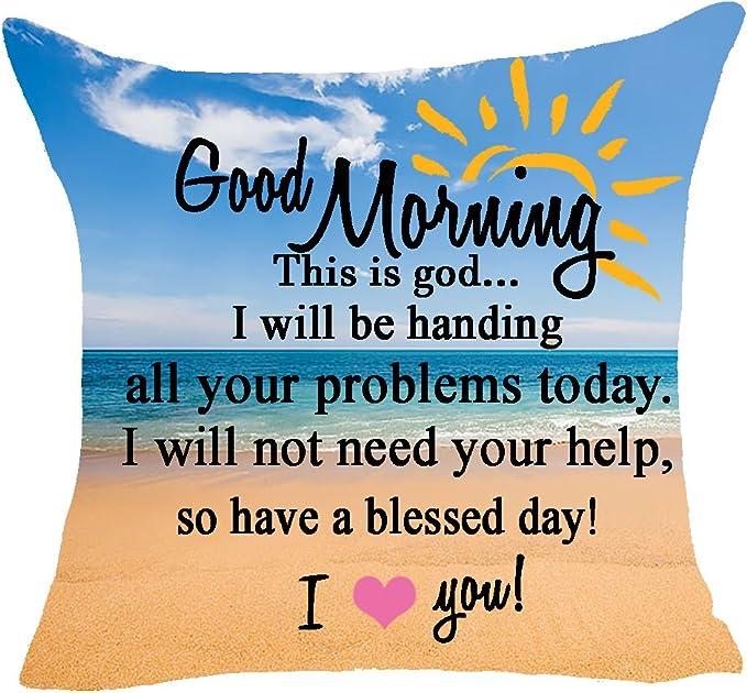 Good morning sunshine pillowcase poytb