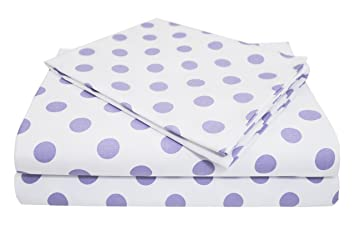 Lavender for Girls American Baby Company Cotton Percale Crib Bumper