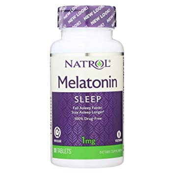 Natrol Melatonin 1 Mg Time Release (1x90 TAB)
