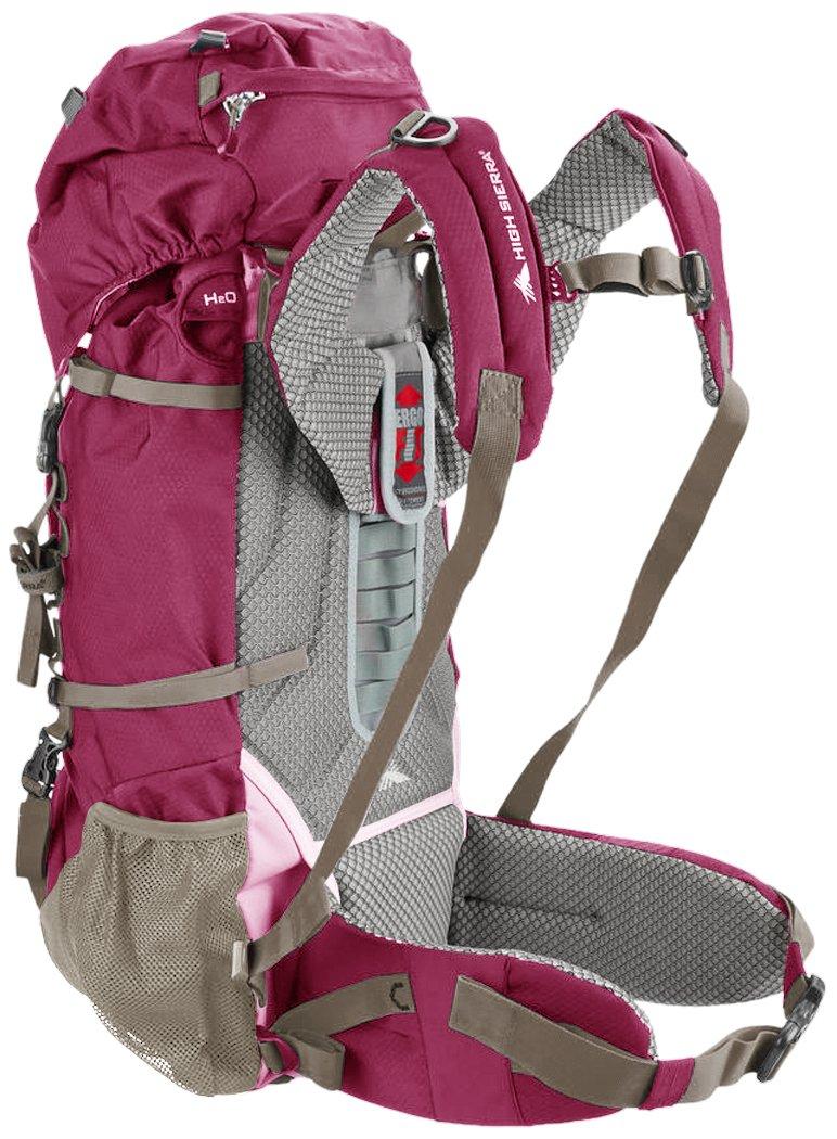 High Sierra Women's Explorer 50L Top Load Internal Frame Backpack Pack