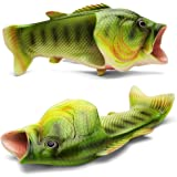 Okay Multiple Colour Creative Fish Slipper Man Handmade Fish Shoes Women Fish Slippers Unisex Beach Slippers