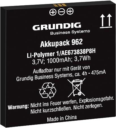 Akkupack 962 Ersatzakku Für Digitale Diktiergeräte Kamera