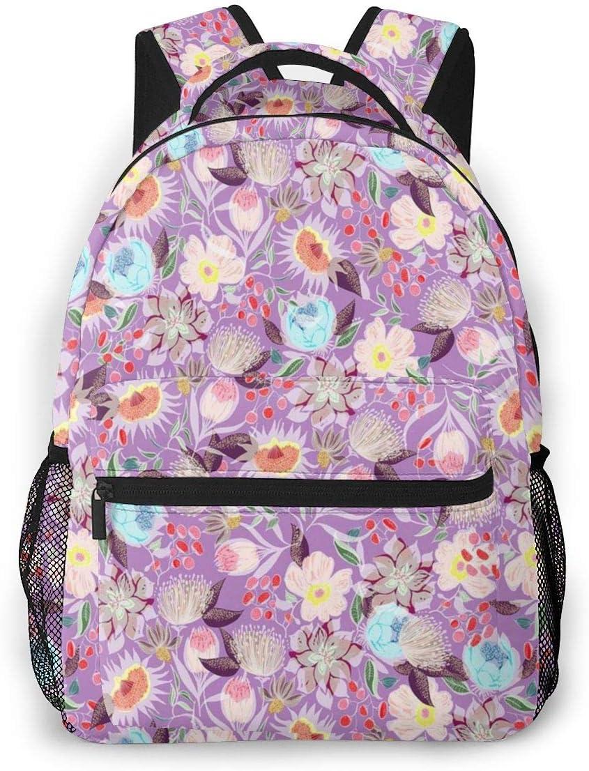 Laptop Backpack Casual Backpack Daypacks Computer Business Backpacks Travel Backpacks Bag Hiking Daypack College School Bookbag Work Bag Vibrant Flower
