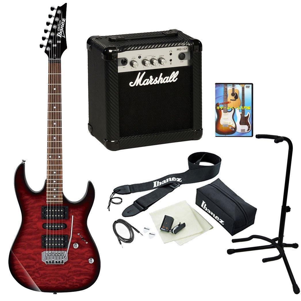 Ibanez / GIO Ibanez GRX70QA+ MG10CF 【Ibanez × Marshall ロックギタースタートセット!】 (TRB) B01MZ3IPSP TRB TRB