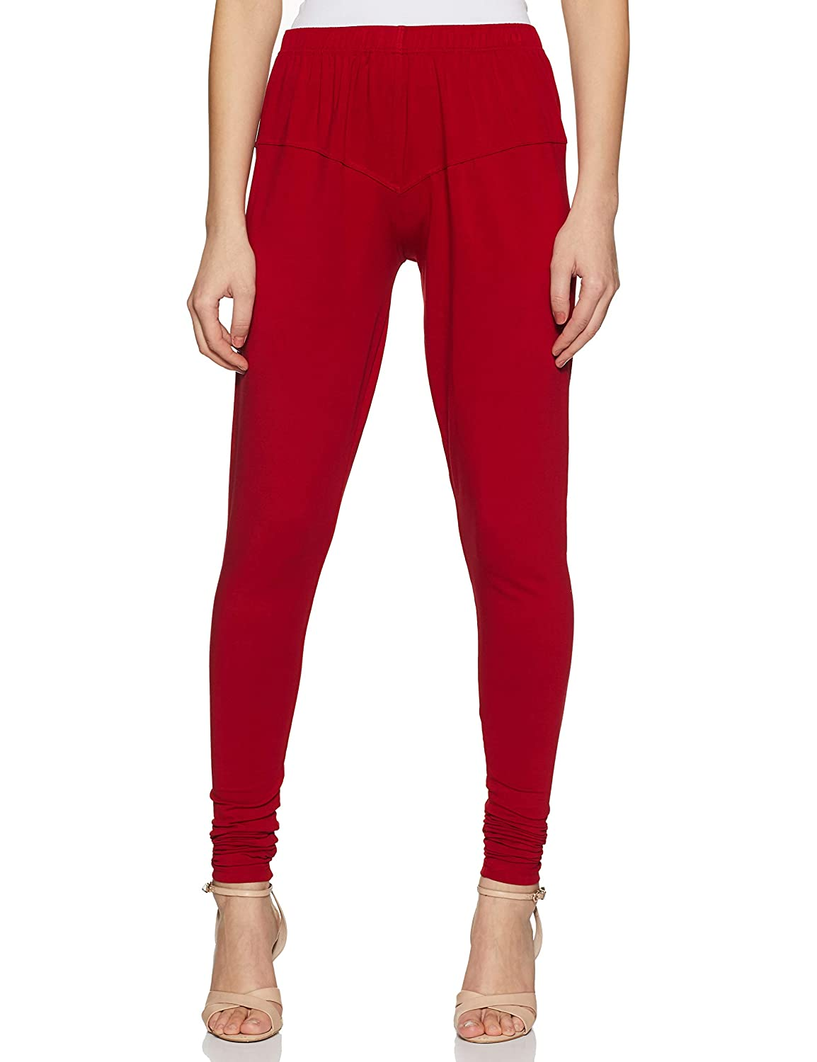LUX LYRA Women's Leggings IC Legg Parry RED_Freesize