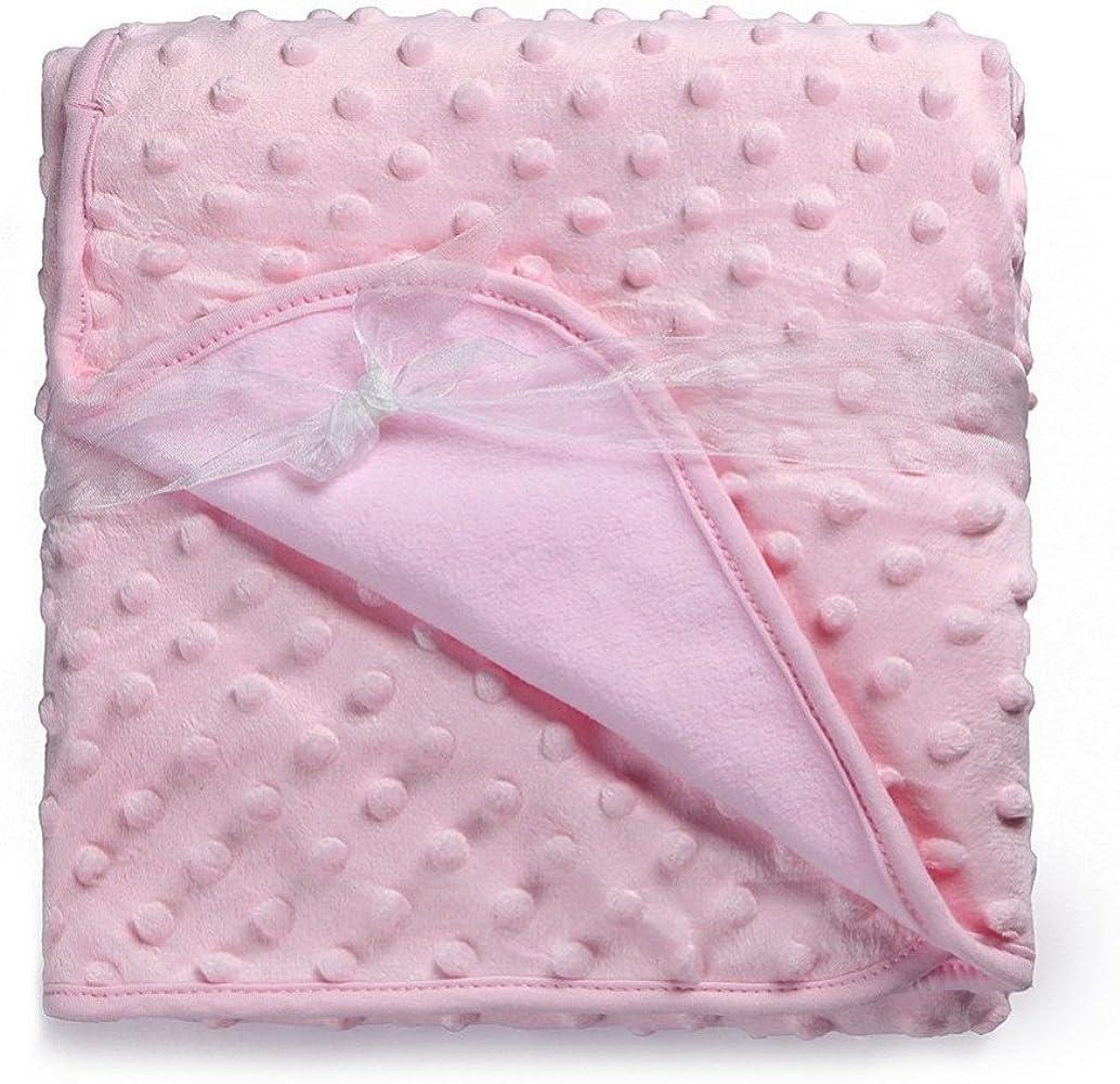 Amazon.com: 3 colores bebé manta térmica suave manta bebé ...