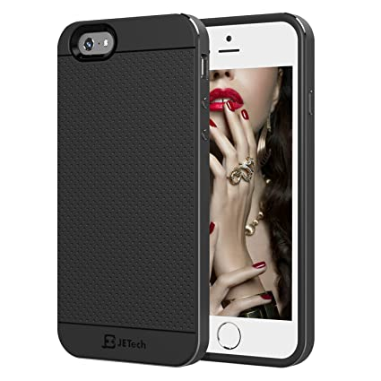 Amazon.com: iPhone 6 Funda, JETech® Marco de aluminio Tough ...