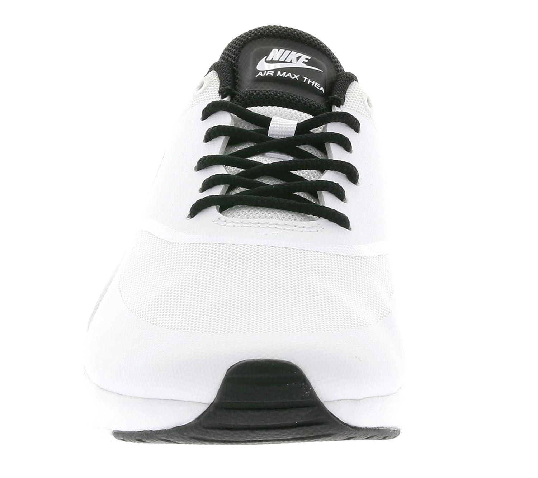 quality design 70745 c5b1f Nike Womens Air Max Thea White Black 599409-102 Womens US 6.5  Amazon.in   Shoes   Handbags