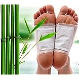 100 patches détox kinoki pour les pieds aux Herbes Naturelles - kit 50 jours - par Black Forest Spa®