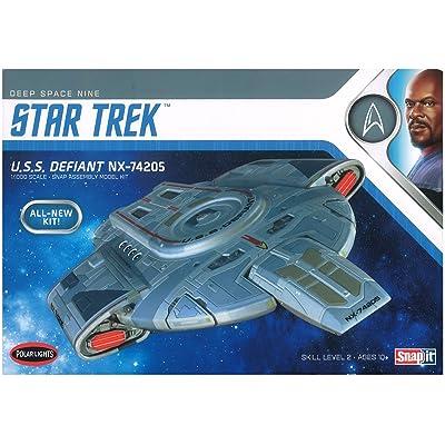 Polar Lights POL952 1:1000 USS Defiant-Star Trek: Deep Space Nine: Toys & Games
