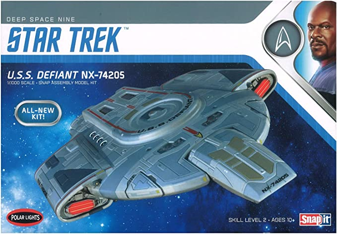 Star Trek Deep Space Station k-7 Model spécial modèle Eaglemoss English Magazine OV