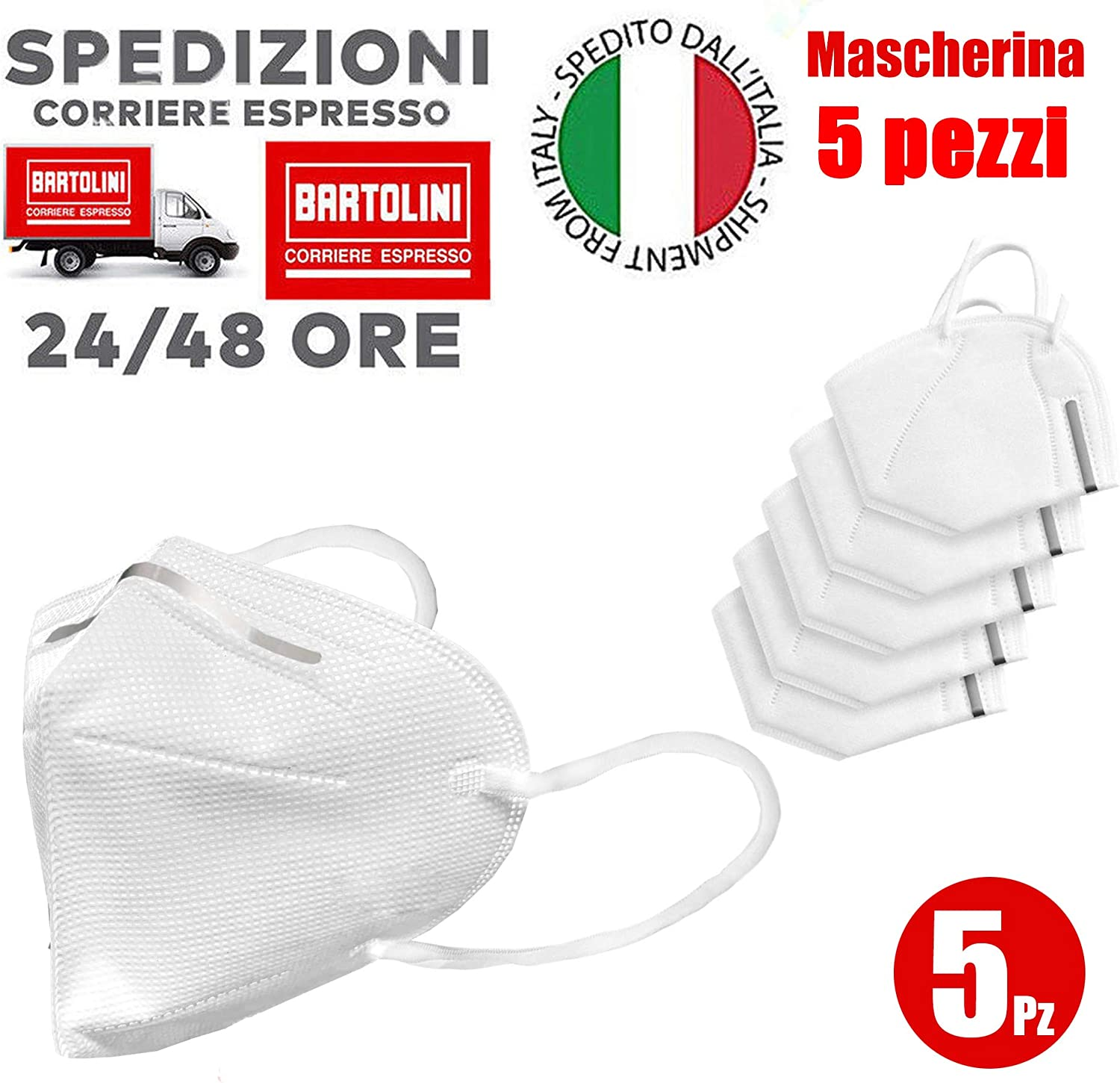 Soft Protective Masks produced in Italy