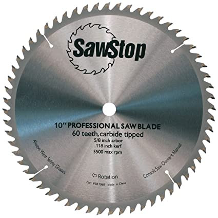 Sawstop cb104 184 60 tooth combination table saw blade 10 inch with sawstop cb104 184 60 tooth combination table saw blade 10 inch with keyboard keysfo Images