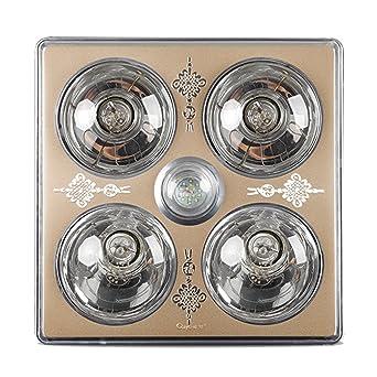 GroBartig HWF Badezimmer Wärmelampe Decke Badezimmer Wärme Lampe Licht Led Beleuchtung  Dreifach Multifunktions Glühbirne 30 * 30