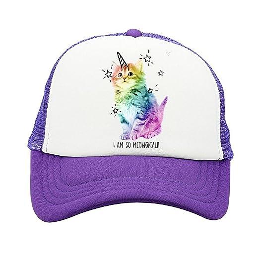 600259f4 ZMvise Unisex I Am So Meowgical Grumpy Rainbow Cat Custom Printed ...
