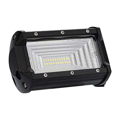 act sports LED Pods Lights, 72W LED Light Bar OSRAM Flood Beam Off Road LED Lights 5 inch LED Fog Lights LED Cubes for Truck, Boat, Motorcycle, Jeep, SUV, ATV, UTV, 2 Years Warranty: Automotive