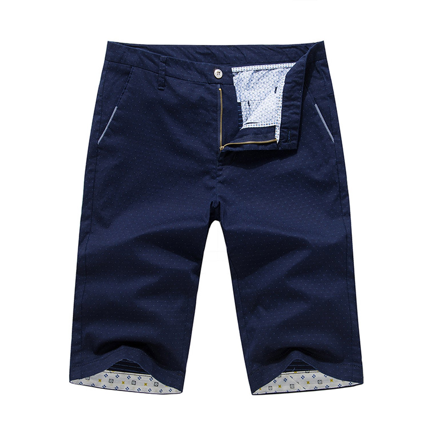 POPOOL PPYF03 Men's Summer Casual Fashion Five Points Shorts