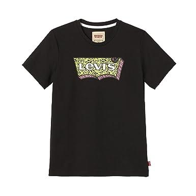 75dced00348a9 Levi s Kids SS Tee BAT90 T-Shirt Garçon Noir (Black 02) 5 Ans ...