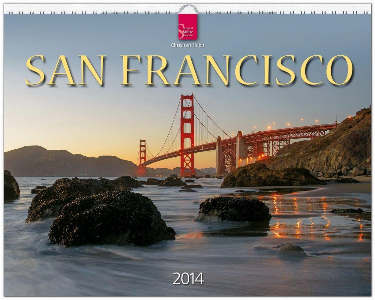 San Francisco 2014: Original Stürtz-Kalender - Großformat-Kalender 60 x 48 cm [Spiralbindung]