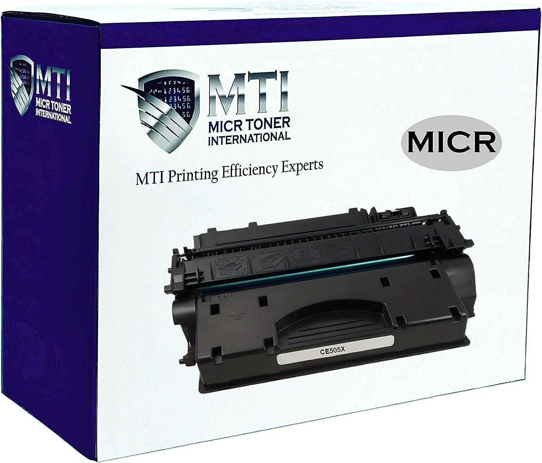 MICR Toner International Compatible Magnetic Ink Cartridge Replacement for HP 05X CE505X LaserJet P2055 P2055D P2055DN P2055X