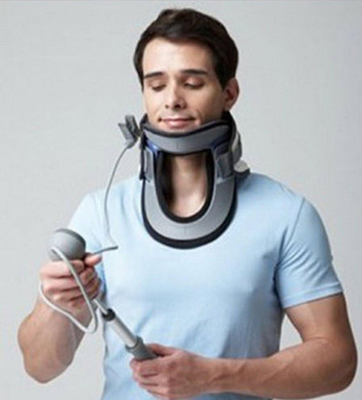 Disk Dr Cs300 Neck Pain Treatment Device Cervical Vertebrae Support Traction Belt Free Size