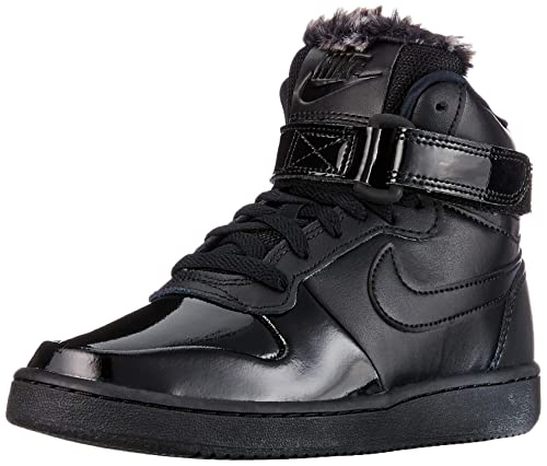 meet 11fa4 ba805 Nike Women s WMNS Ebernon Mid Prem Basketball Shoes, Black (Black Black 001)