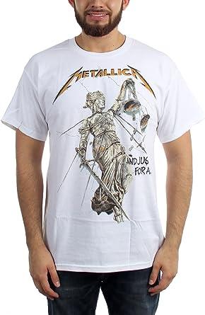Metallica - Camiseta para hombre y justicia para todos: Amazon.es: Ropa y accesorios