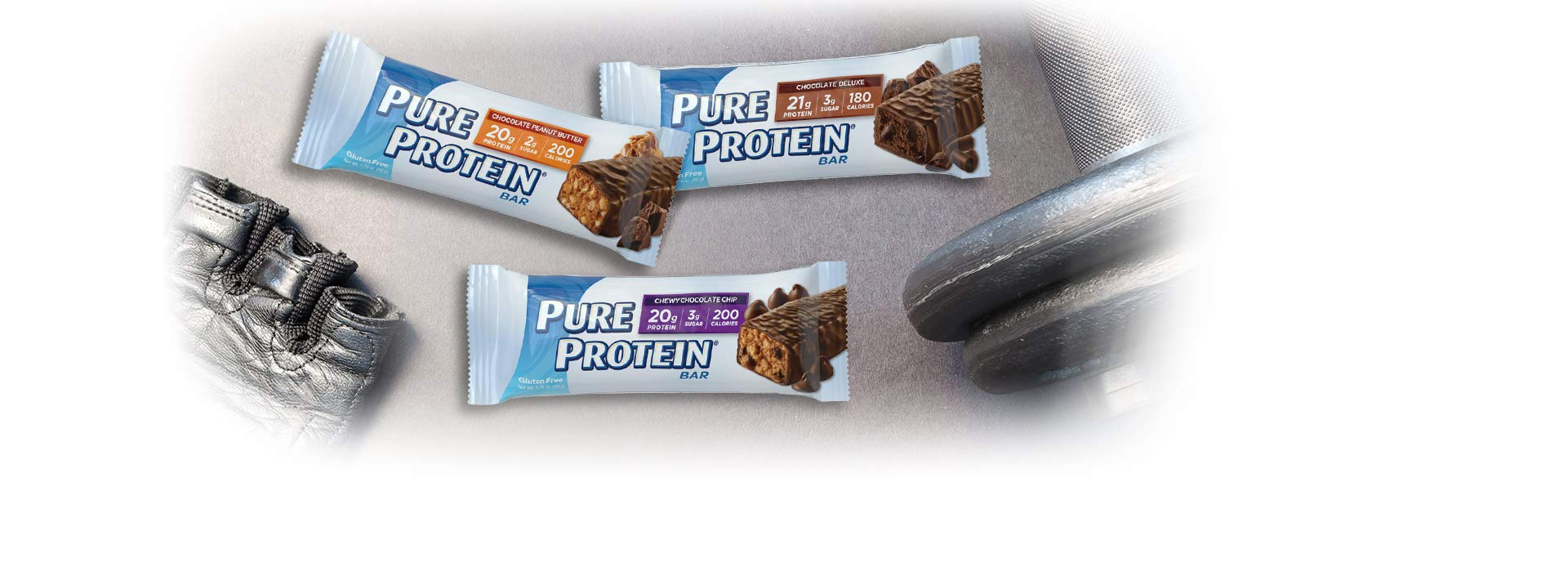 Pure Protein Bars, Healthy Snacks to Support Energy, Variety Pack, 1.76 oz, 18 Count by Pure Protein (Image #2)