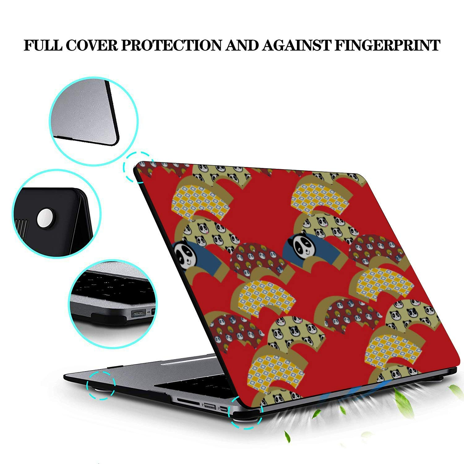 15inch MacBook Pro Case Serious Creative Fashion Painting Plastic Hard Shell Compatible Mac Air 11 Pro 13 15 Mac Book Pro Case Protection for MacBook 2016-2019 Version