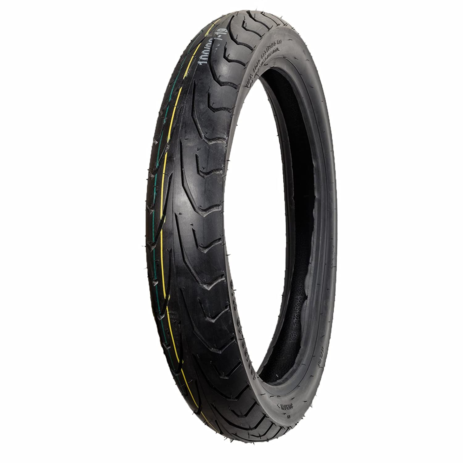 Max Motosports Motorcycle Tire 100//90-19 100//90 19 Front Tire 6 PLY