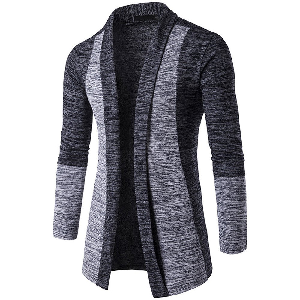 Clearance!WuyiMC Sweatshirt, Men's Autumn Winter Sweater Cardigan Knit Knitwear Coat Jacket