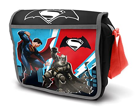 Batman DC Comics Bolsa de Almuerzo, poliéster, 8.00 x 23.00 x 20.00 cm