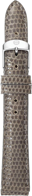 MICHELE Women's 16mm Lizard Watch Strap MS16AA030020