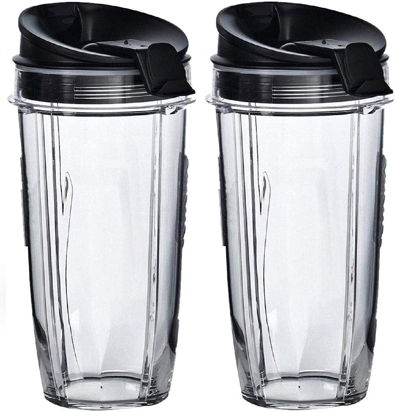 Replacement Nutri Ninja 24 oz Cup with Sip & Seal Lid - For Blender BL450 BL454 Auto-iQ BL480 BL481 BL482 BL687