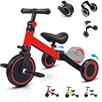 COOLBABY Children's tricycle baby toddler riding bicycle pedal buggy large children's car