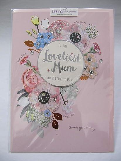 Tarjeta de felicitación para el día de la Madre, Hecha a ...